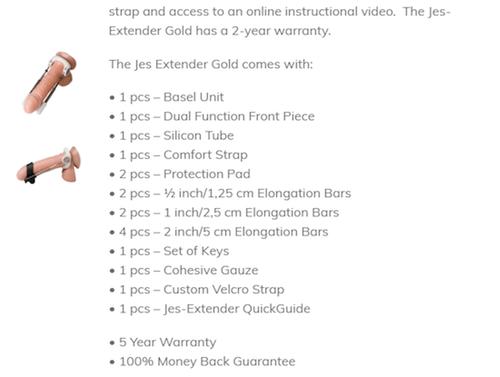 Jes Extender warranty