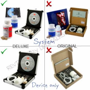proextender system: Deluxe vs Original