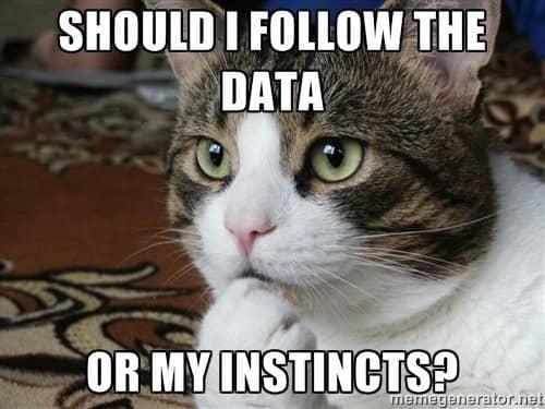 follow scientific data meme