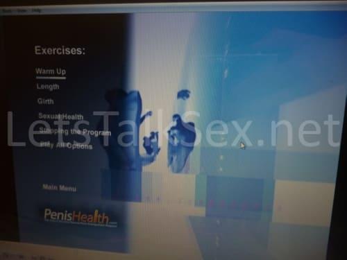 penis health dvd main menu