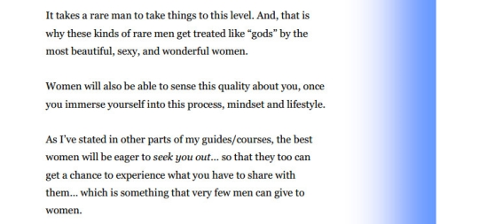 quote about rare men from G-Spot Mastery