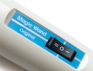 Settings on the Hitachi Magic Wand