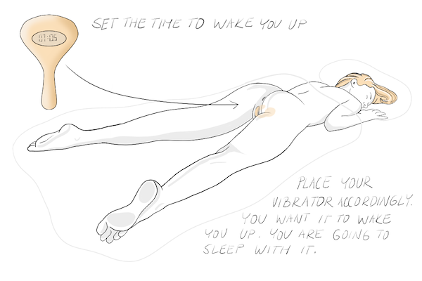 How to Use a Vibrator as Alarm Clock