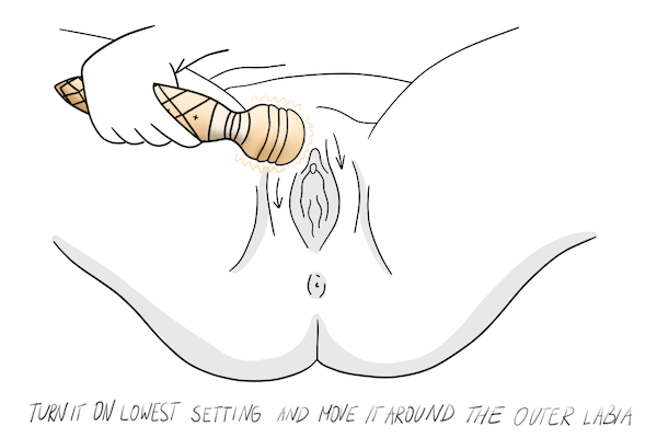 How to Use a Vibrator for Clit Play Step 4