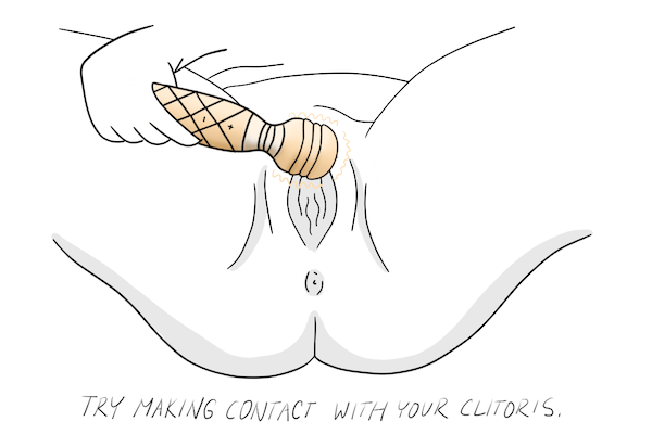 How to Use a Vibrator for Clit Play Step 6