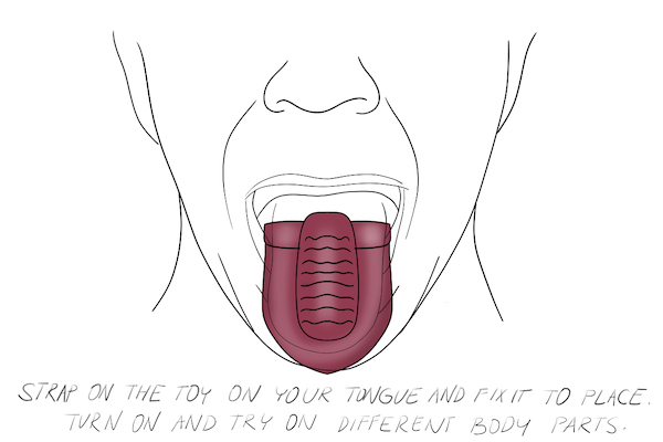How to Use a Vibrator During Oral Step 2 and 3