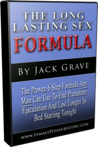 The Long Lasting Sex Formula eBook Cover