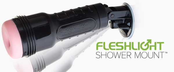 fleshlight shower mount masturbator