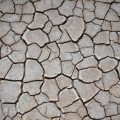 dried lake texture