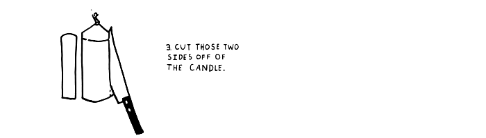 Step-3-cutting-these-two-sides-of-the-candle