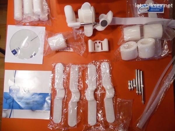 X4 Labs penis extender full package