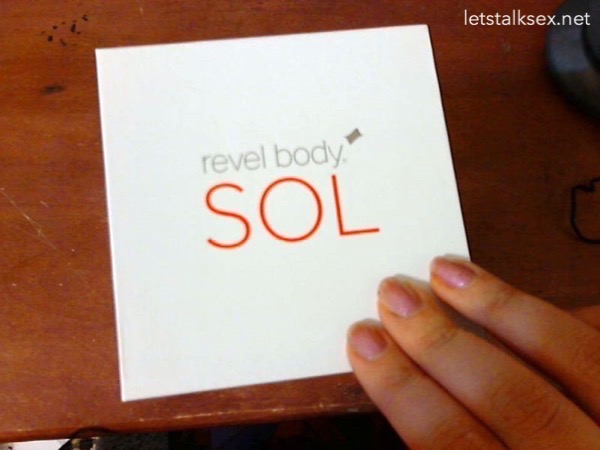 revel body sol sonic vibrator package