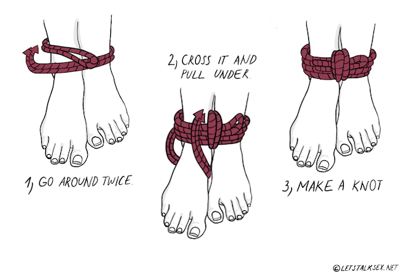 how to do rope bondage