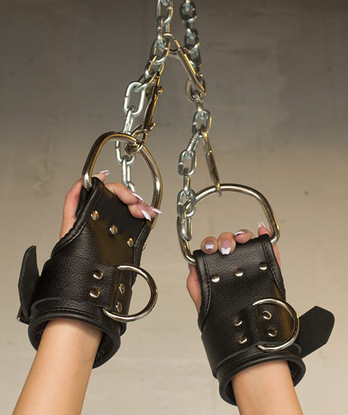 padded suspension cuffs