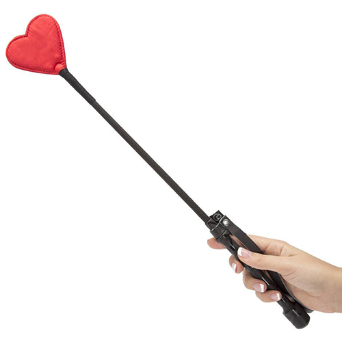 red heart riding crop