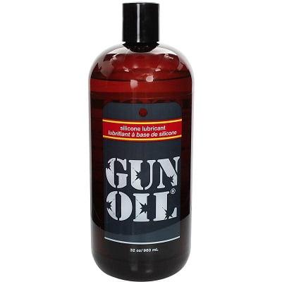 Gun Oil Silicone Personal Lubricant 32 Oz