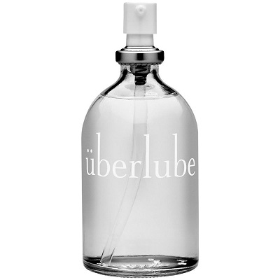 Uberlube Luxury Silicone Lubricant 3.4 Oz (100 Ml) For Style, Sport & Sex