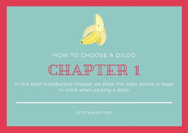 how to choose a dildo