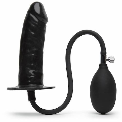 penis inflatable butt plug