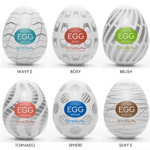 Tenga egg types