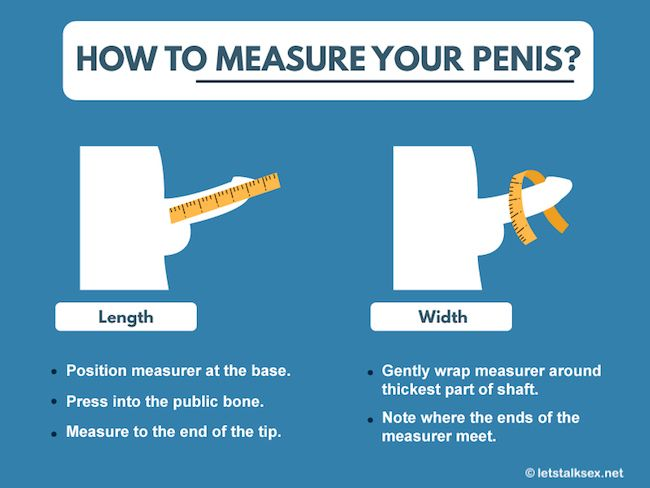 how to measure your penis