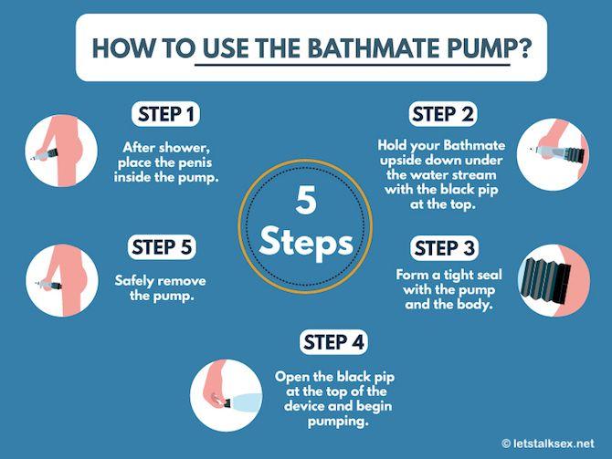 how to use bathmate pump