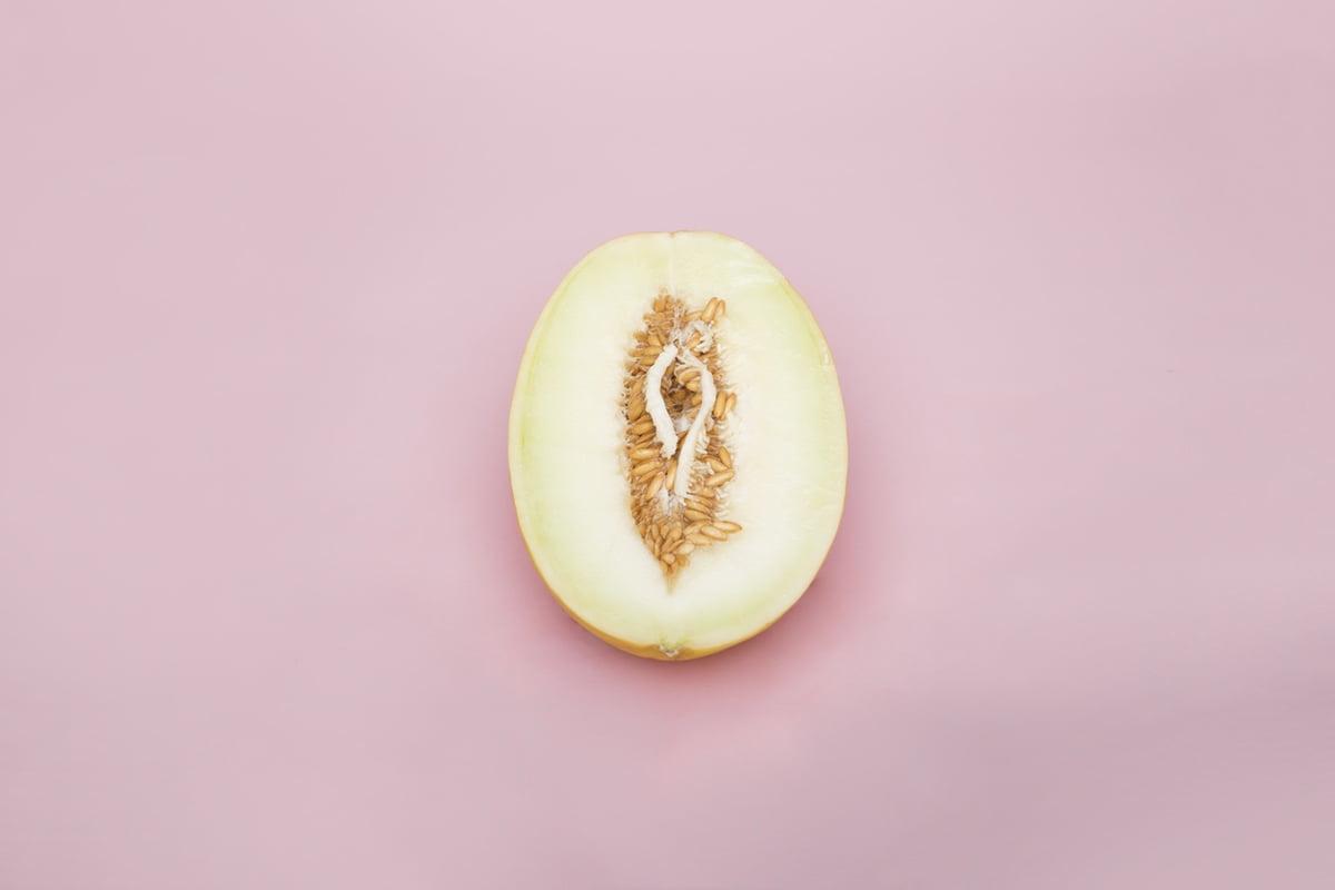 Vagina melon foodporn