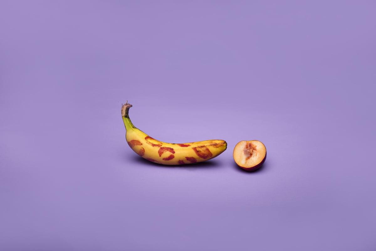 banana kissed peach