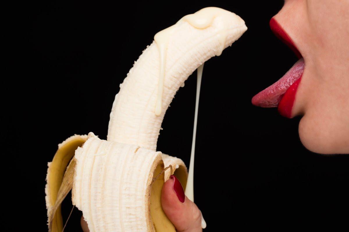 creamy banana mouth