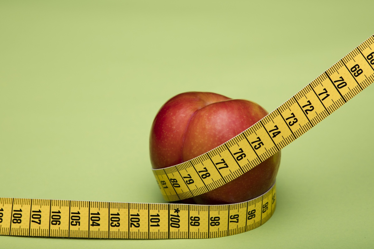 measure peach
