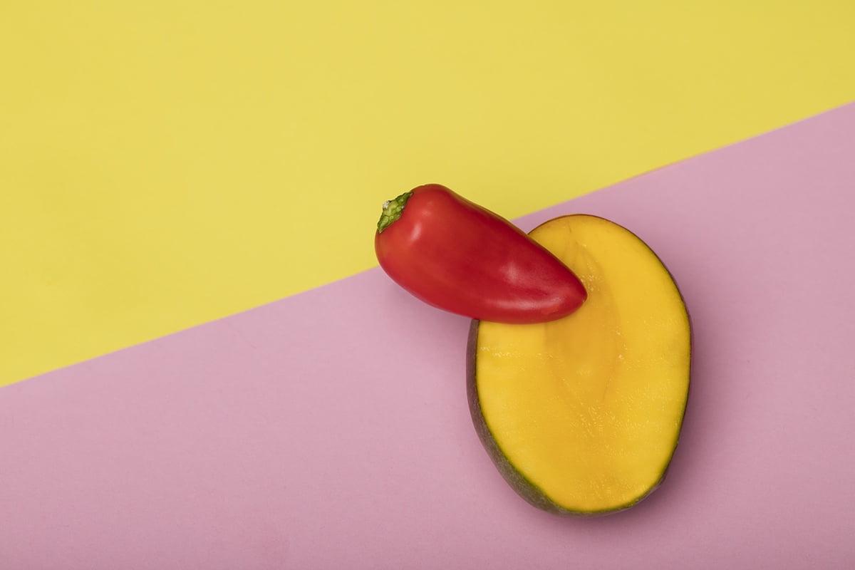 pepper in mango