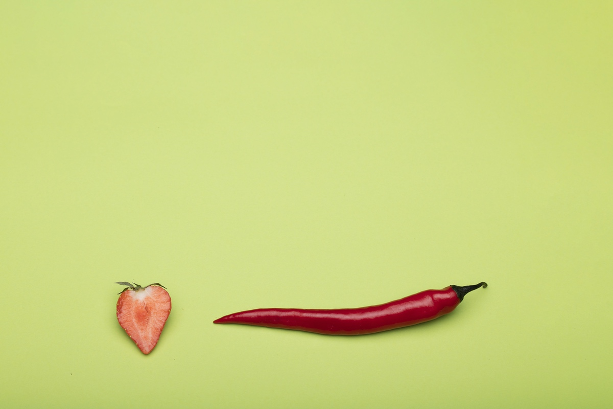 pepper strawberry erotic