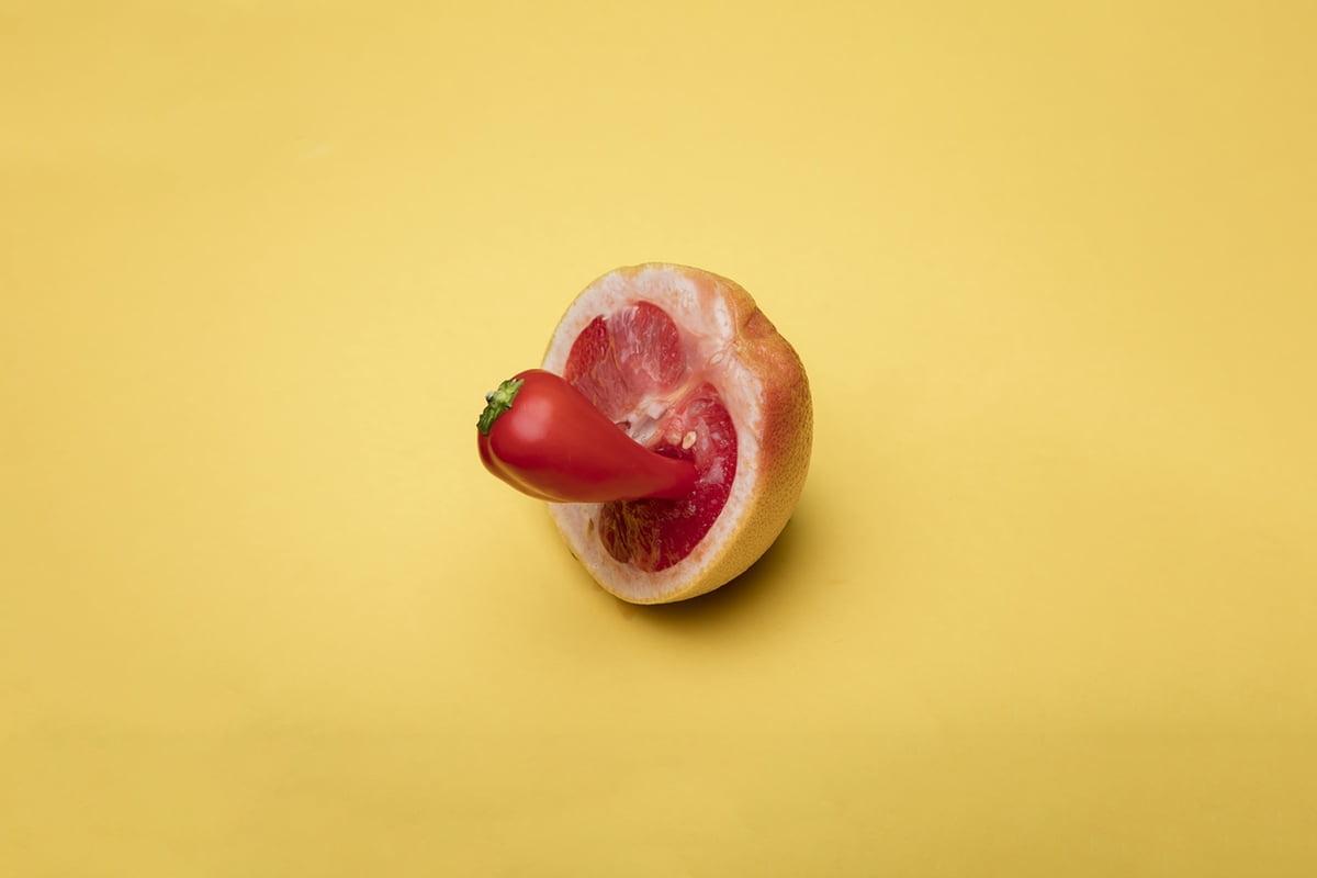 pomegranade pepper tongue