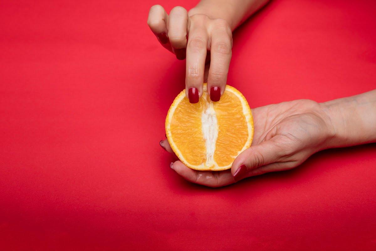 unporn orange finger
