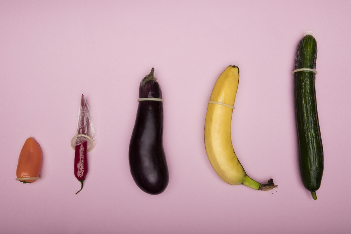 vegetables with condoms